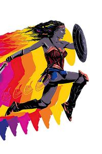 320x480 Wonder Woman 84 New Poster