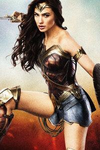 Wonder Woman 8k Poster