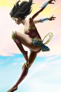 Wonder Woman Above