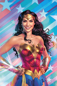 720x1280 Wonder Woman Amazing Smile