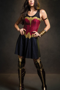 Wonder Woman Amazonian Girl