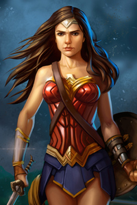 Wonder Woman Amazonian Queen