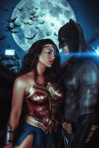 Wonder Woman And Bat 4k