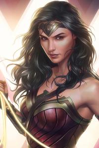 Wonder Woman Angry