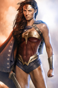 Wonder Woman Angry4k