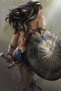 Wonder Woman Art HD 2018