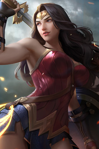 Wonder Woman Artwork 2018 Latest