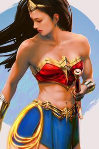 Wonder Woman Artwork 2020 4k