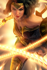 Wonder Woman Artwork 2020 New