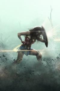 Wonder Woman Artwork HD 2018