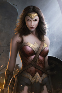 Wonder Woman Artwork HD 2019