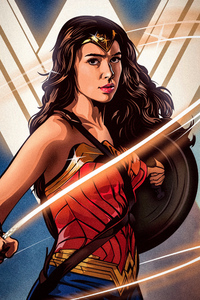 Wonder Woman Artwork New
