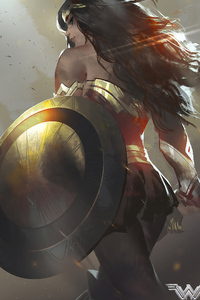 Wonder Woman Back