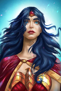 Wonder Woman Blue Eyes
