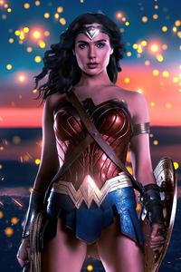 720x1280 Wonder Woman Bonds Of Love 4k