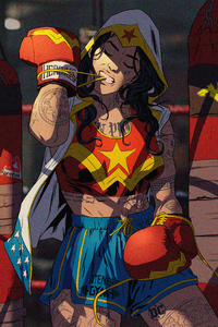 Wonder Woman Boxer