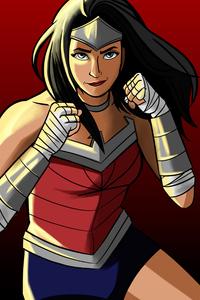 Wonder Woman Cartoon Artworks