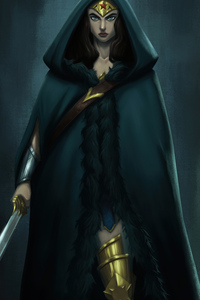 2160x3840 Wonder Woman Character Concept Art