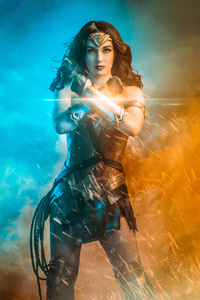 Wonder Woman Cosplay Art