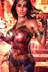 Wonder Woman Cosplay Girl