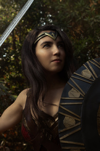 1080x2160 Wonder Woman Cosplay New