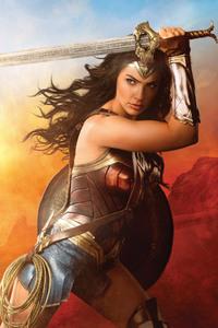 800x1280 Wonder Woman Cover