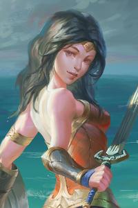 Wonder Woman Cuteart