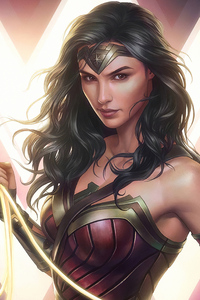 Wonder Woman Cuteartwork