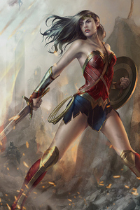 Wonder Woman Danger