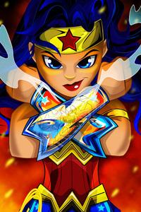 Wonder Woman Digital Art 4k