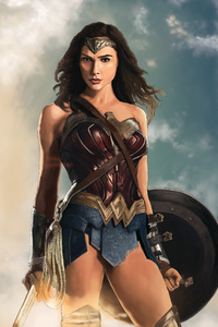 1080x2280 Wonder Woman Digital Artworks