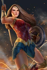 Wonder Woman Fan Made Art