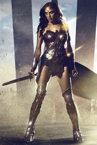 1280x2120 Wonder Woman Fan Made