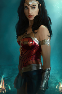Wonder Woman Gal Gadot 2020 4k