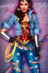 Wonder Woman Gal Gadot Art 4k