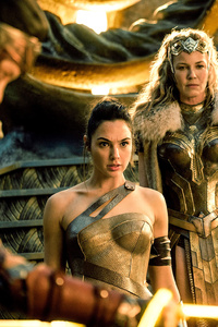 Wonder Woman Gal Gadot Connie Nielsen