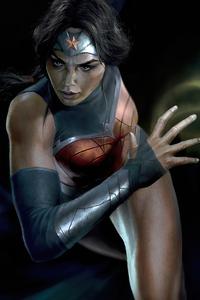Wonder Woman Gal Gadot Diana Prince Artwork