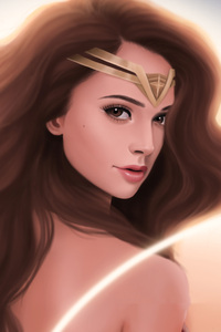 Wonder Woman Gorgeous Art