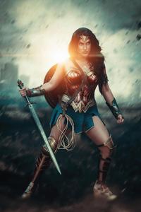 Wonder Woman In War Cosplay 4k