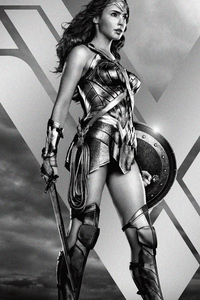 Wonder Woman Jl Zack Synders Cut Poster 5k