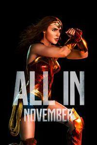 640x960 Wonder Woman Justice League 2017 4k