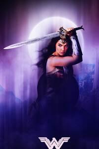 Wonder Woman Justice League 4k Fan Art
