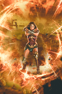 640x960 Wonder Woman Justice League Synder Cut