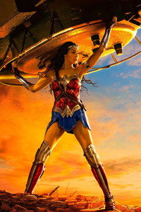 Wonder Woman Lifting Tank