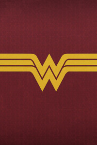 800x1280 Wonder Woman Logo 2