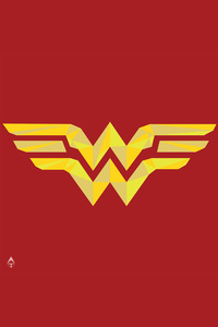 Wonder Woman Logo 4k Artwork