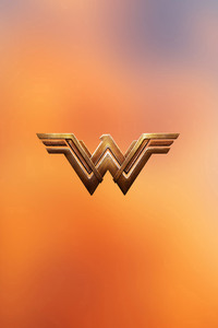 800x1280 Wonder Woman Logo 4k