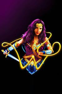 720x1280 Wonder Woman Minimal 5k