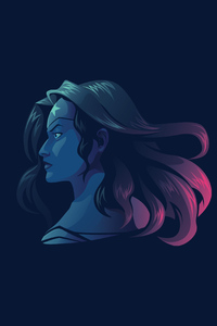 Wonder Woman Minimalist 4k