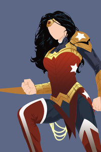Wonder Woman Minimalist